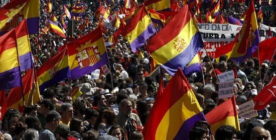 banderas republicanas Intelectuales por la III República en España