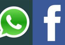 Logos de Whatsapp y Facebook