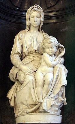Miguel Angel: Madonna de Brujas