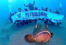 Manifestación subacuática contra las petroleras. Nautical News Today