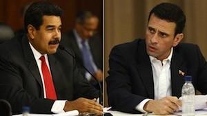 Venezuela maduro capriles Venezuela: Gobierno pide reconocimiento democrático y oposición pide amnistía
