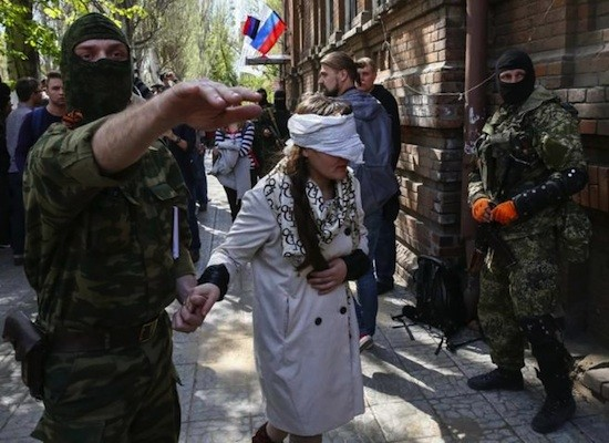 Irma Krat fue capturada el domingo por milicianos prorrusos en la ciudad de Slaviansk