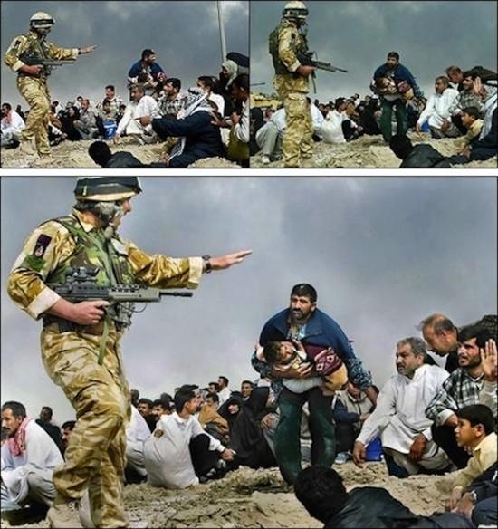 3 iraq manipulada triptico ed 550 Retoque ético /4: Matar al mensajero