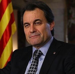 Artur Mas Catalunya Cataluña: gol de Mas al Estado