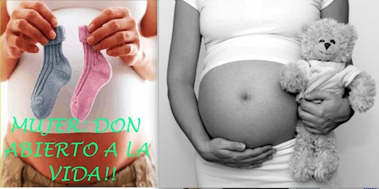 Lo mismo (no aborto) y su contrario (no visibilizar el embarazo de las chicas jóvenes embarazadas)
