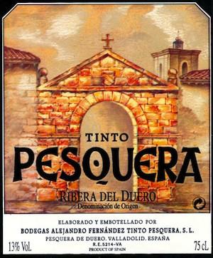 Tinto Pesquera de Bodegas Alejandro Fernández