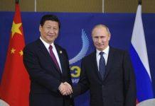 Putin con Xi-Jinping