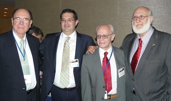 Luis Alberto Ambroggio, Daniel R.Fernandez, Jorge Covarrubias y Gerardo Pina-Rosales