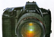 Canon Eos 1con el objetivo normal ultraluminoso 50 mm f/1.0