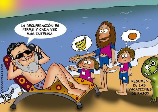 6 LAS VACACIONES DE RAJOY