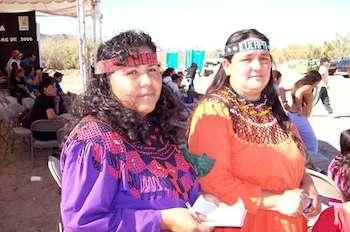 Mónica Gónzalez e Hilda Hurtado, lideresas de las cooperativas cucarás,. Foto