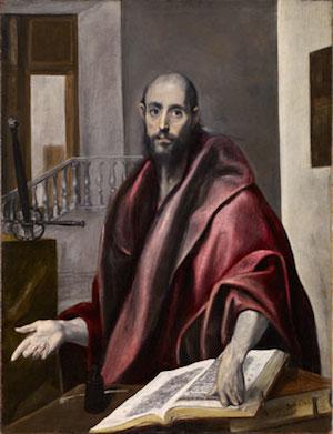 El Greco: San Pablo