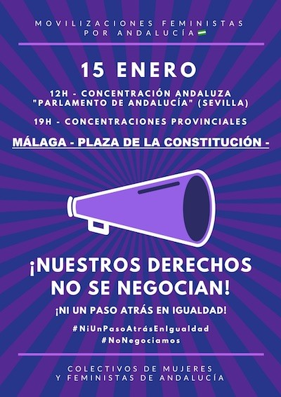 Andalucía 15ENE mujeres