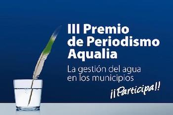 Aqualia Premio Periodismo cartel