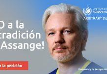 Assange DiEM25 firmas