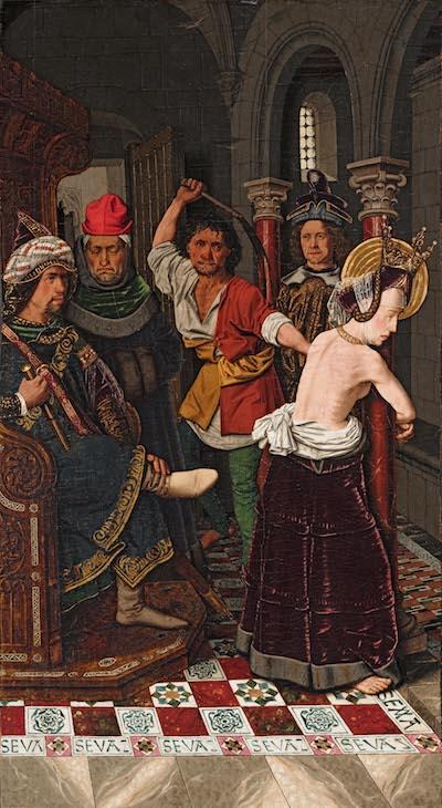 Bermejo Arresto de Santa Engracia