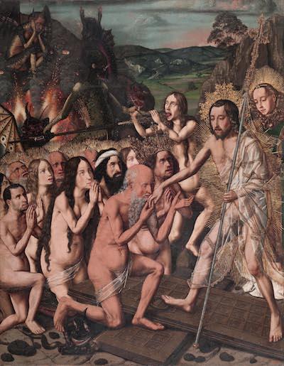 Bermejo Descenso de Cristo al limbo