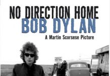 "Dylan y Scorsese, cartel de ""No Direction Home"" 2005"