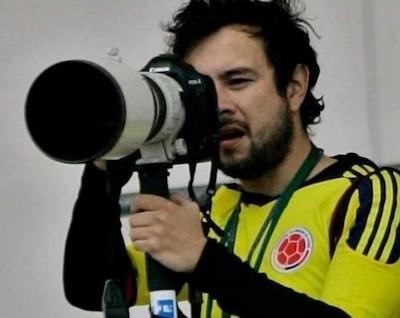 Leonardo Muñoz, fotógrafo de la Agencia EFE en Colombia