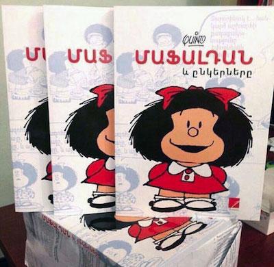 Mafalda, edición en Armenia