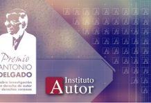 Premio Antonio Delgado Instituto Autor