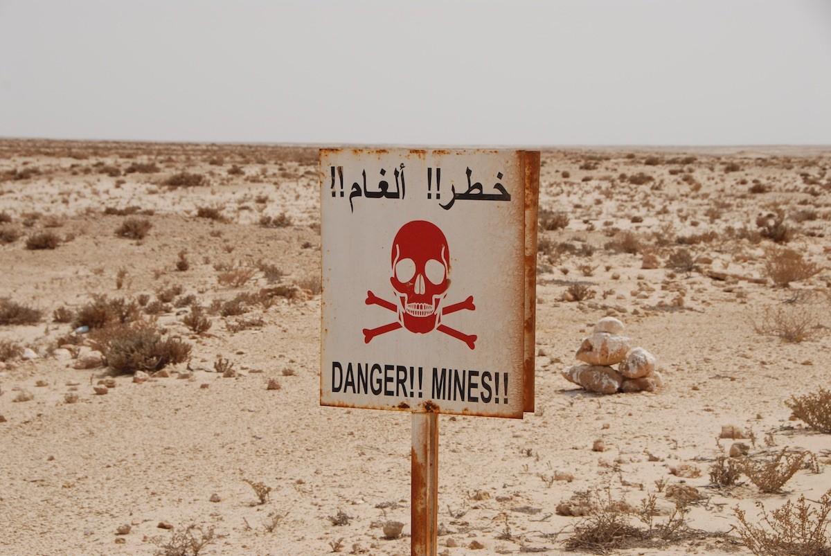 Minas antipersona en el Sáhara