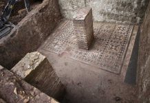Metro de Roma, restos encontrados en el subsuelo durante las obras