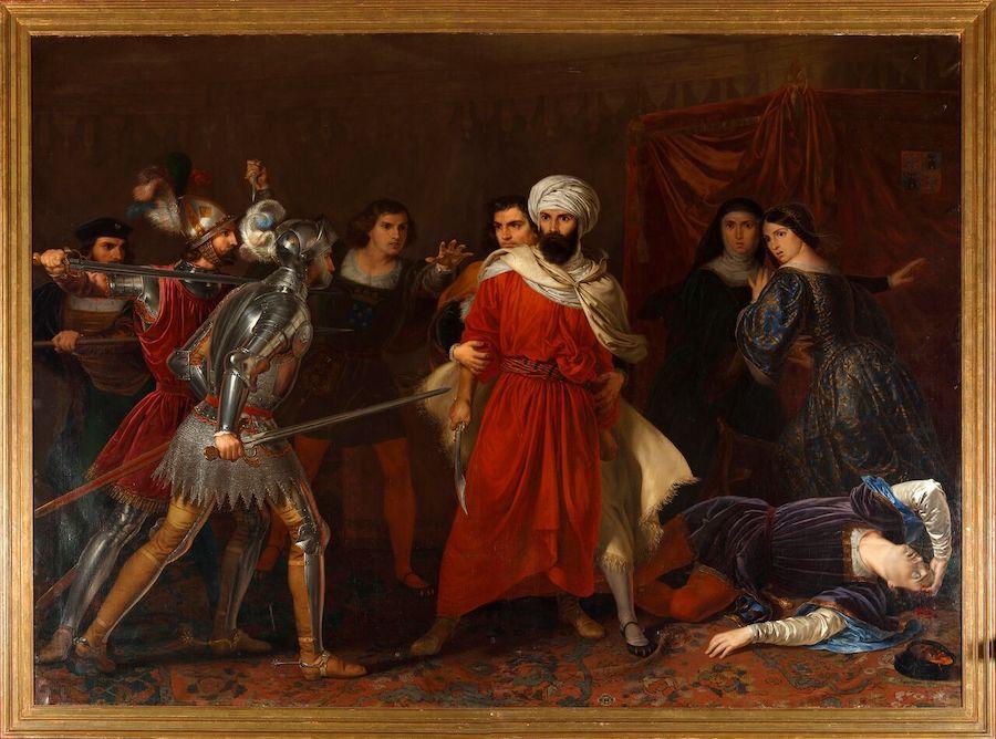 Tegeo:  Episodio de la conquista de Málaga