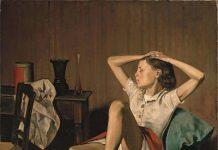 Balthus: Thérèse soñando