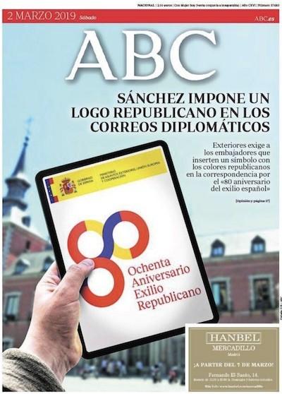 Resultado de imagen de portada abc logo republicano