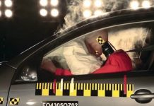 airbag dummy crash test