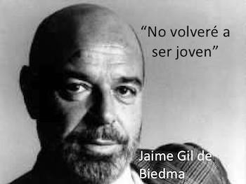 Jaime Gil de Biedma banner