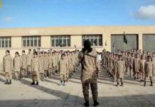 Menores soldados del Dáesh