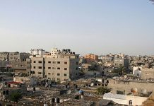 Suhair Karam / IRIN Vista del campo de refugiados de Jabalia, el mayor de la Franja de Gaza.