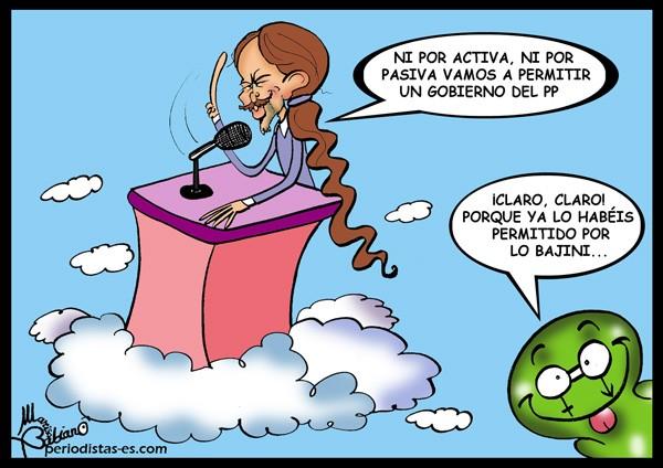 El nuevo Gobierno del PP y Pablo Iglesias