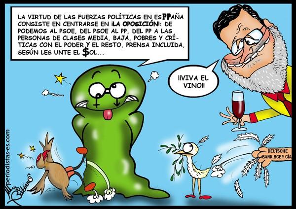 La política española y la oposición