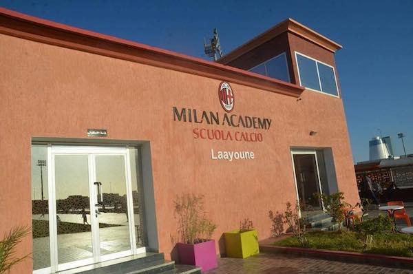 Academía de Fútbol del AC Milan en El Aaiún