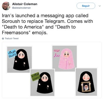Alistair Coleman soroush