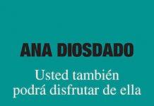 """Portada de """"Usted también podrá disfrutar de ella"""", de Ana Diosdado"""