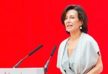 Ana Patricia Botín, presidenta del Banco Santander