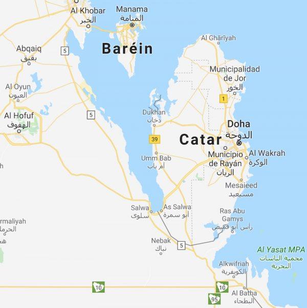 Arabia Saudi Qatar Salwa