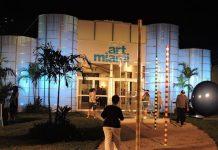 Entrada a la feria Art Miami 2015