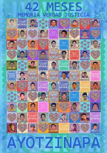 Ayotzinapa 43 Estudiantes poster