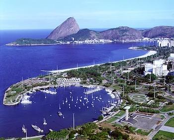 Brasil, Río de janeiro, playas de Copacabana e Ipanema
