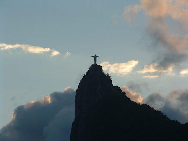 Adriana Bianco: Brasil, Río de janeiro, vista del Cristo Redentor
