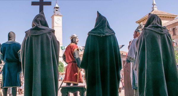 Consuegra Medieval, representación en la Plaza en 2017