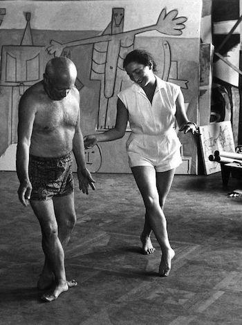 David Douglas Duncan Pablo Picasso y Jacqueline Roque