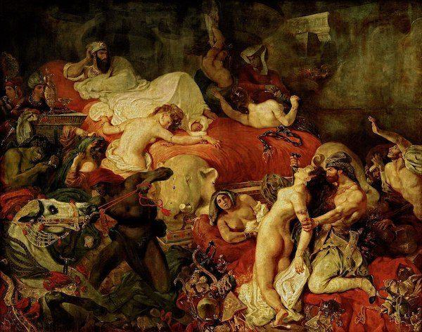 Delacroix, La muerte de Sardanápalo