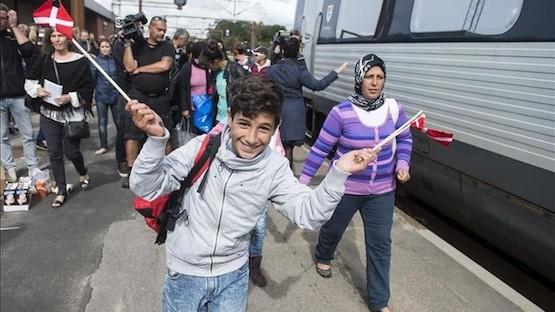 Refugiados sirios en Dinamarca