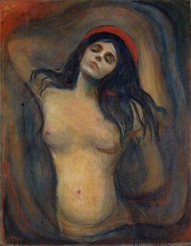 Munch: Madonna 1894-1895